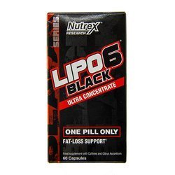 Nutrex Lipo 6 Black Ultra Concentrate EU 60 Caps