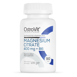 OstroVit Magnesium Citrate 400 mg + B6 90 tabs