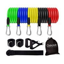 Ostrovit Expander Training Bands Set (5 bands)